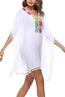 FANCYINN Vestido de Bikini Mujer Ropa de Ba/ño Playa Traje de Ba/ño Vestido de Bikini Camisolas y Pareos