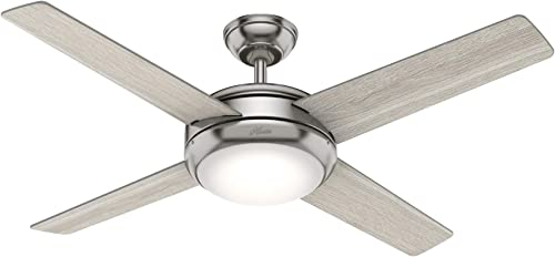 wholesale Hunter outlet sale Marconi Indoor Ceiling Fan wholesale with LED Light and Wall Control outlet sale