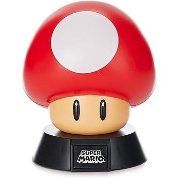 Amazon Com Paladone Green 1up Mushroom Light Nintendo Super