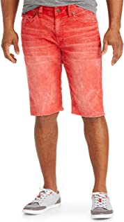 Big and Tall Ricky Relaxed Straight Corduroy Cut-Off Shorts