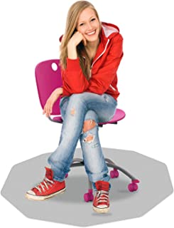 "Cleartex 38"" x 39"" Ultimat Chair Mat for Har"