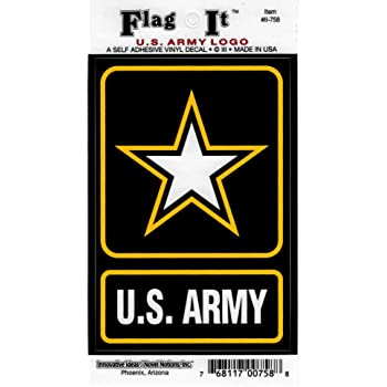 US Army Logo decal for auto truck or boat Innovative Ideas 758