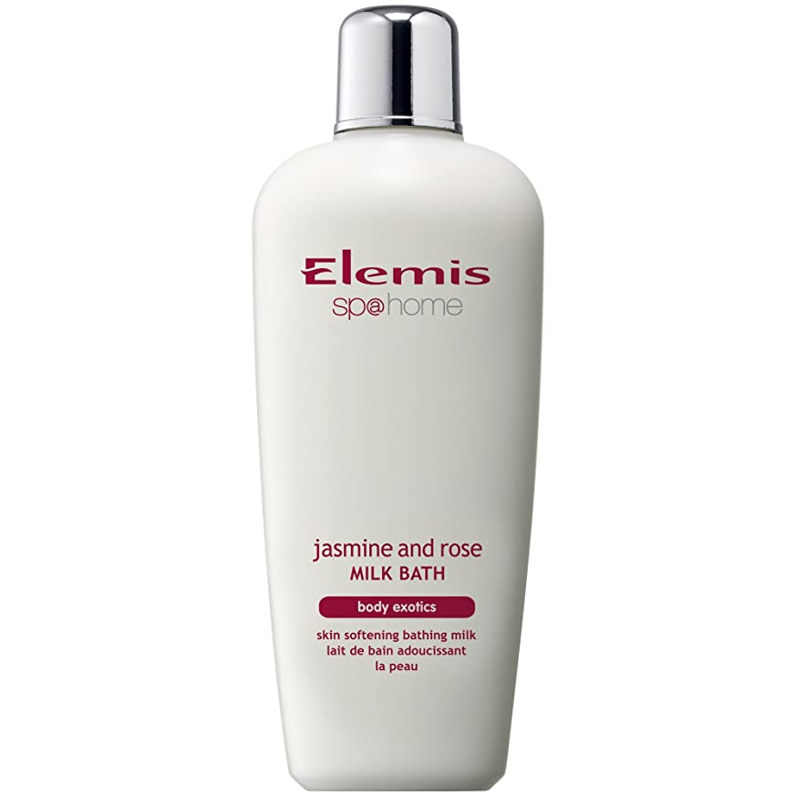 ダーツかけがえのない出会いエレミスのジャスミン、ローズミルクバスの400ミリリットル (Elemis) - Elemis Jasmine And Rose Milk Bath 400ml [並行輸入品]