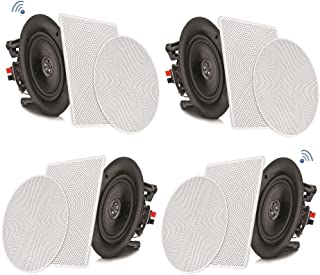 Amazon Com 12 In Above Ceiling In Wall Speakers Speakers Electronics