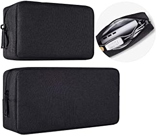 imComor Universal Electronics Accessories Case, 2-Pack Portable Soft Carrying Case Bag Wire Cable Organizer for Hard Drive...