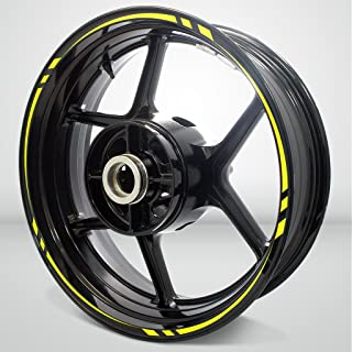 Swift Outer Rim Liner Stripe for Yamaha FZR 1000 Matte Yellow