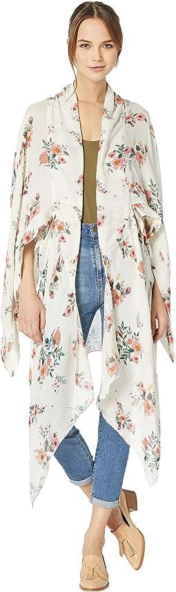 Lindsay Oasis Floral Kimono