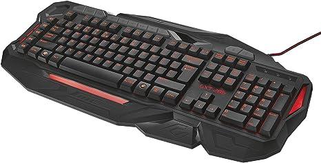 La Confianza GXT 285 Teclado Negro/Rojo
