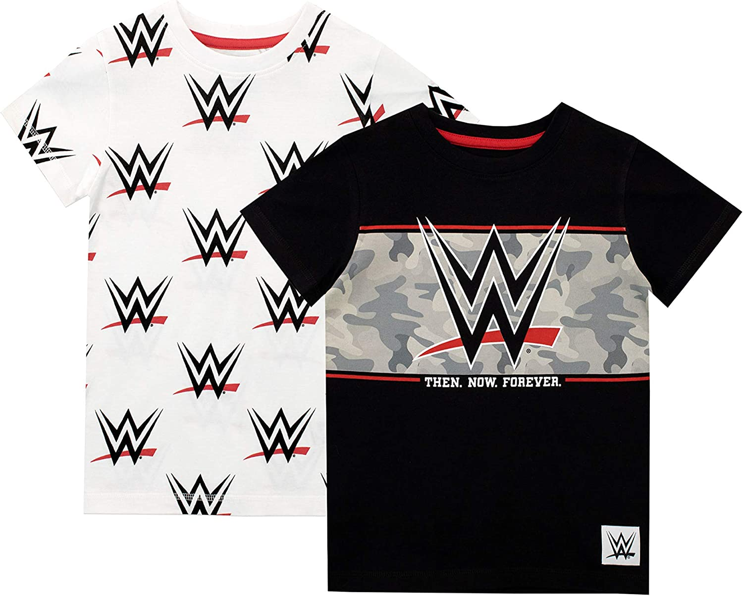 WWE Boys' World Wrestling Entertainment T-Shirt Pack of Two