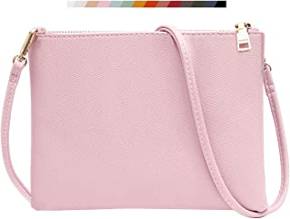 Crossbody Bag for Women, Small Shoulder Purses and Handbags Lightweight Vegan Leather Wallet with Detachable Strap