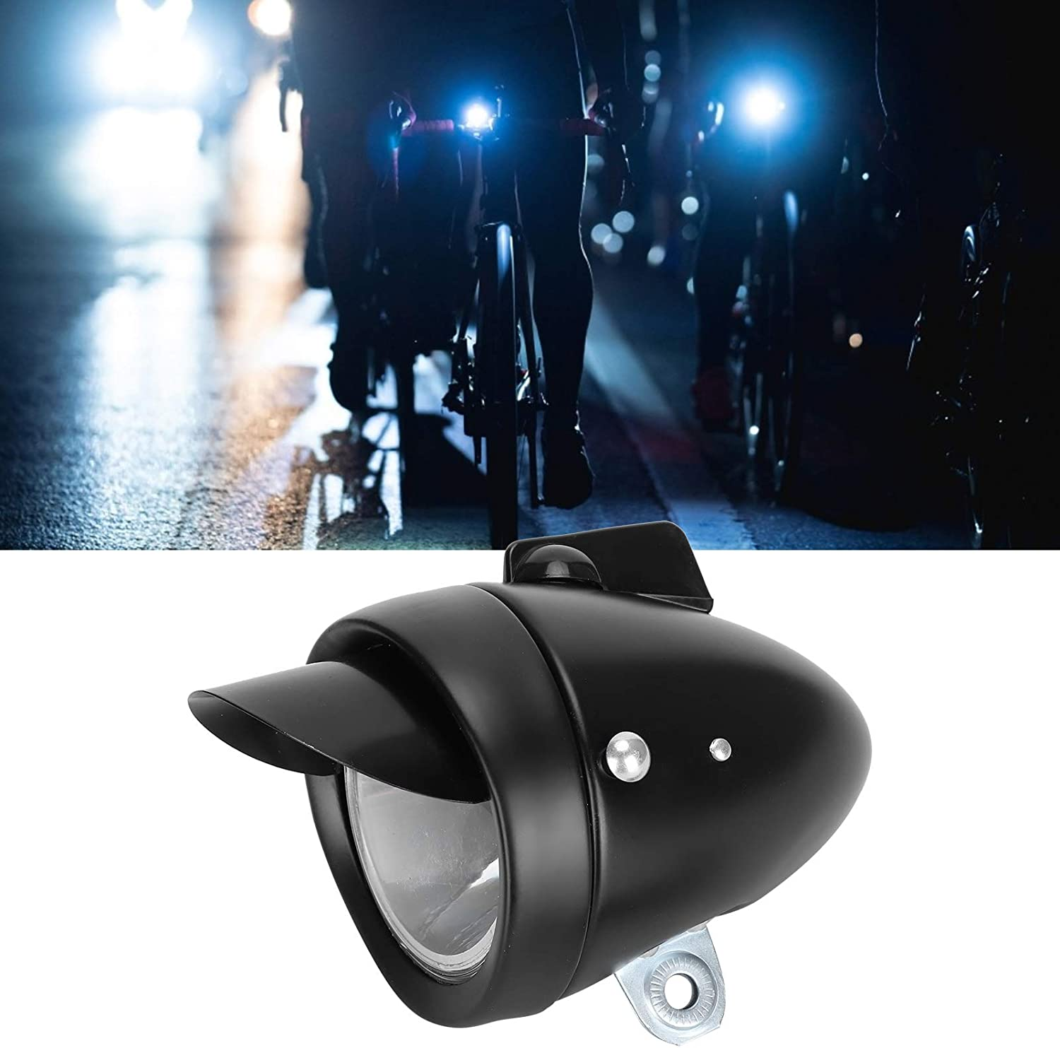 XQAQX Max 89% OFF Bike Max 44% OFF Front Bicycle Vintage Light