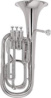 Kaizer Baritone Horn 2000 Series B Flat Bb نیکل نقره BRH-2000NK