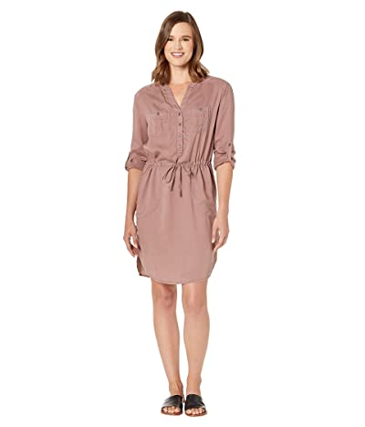 Prana Abbey Dress (Dark Mauve) Women