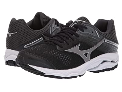 Mizuno Wave Inspire 15 (Black/Dark Shadow) Women