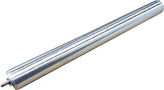 "Pack of 5 Conveyor Rollers, 1.5"" Diameter Galvanized Steel, 22"" Between Frame"