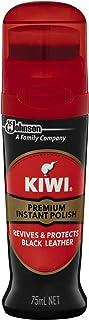 KIWI Premium Instant Liquid Wax Shoe Polish, Black, 75 ml