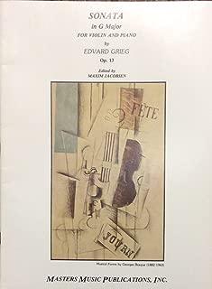 grieg violin sonata op 13
