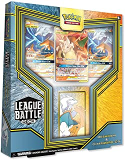 Pokémon TCG: League Battle Deck Featuring Reshiram & Charizard-GX
