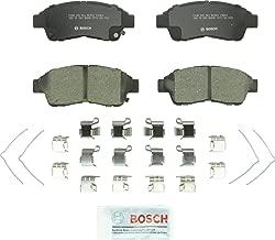 Bosch BC562 QuietCast Premium Ceramic Disc Brake Pad Set For: Geo Prizm; Toyota Camry, Celica, Corolla, RAV4, Front