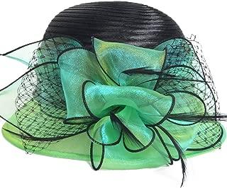 HISSHE Cloche Oaks Church Dress Bowler Derby Wedding Hat Party S015