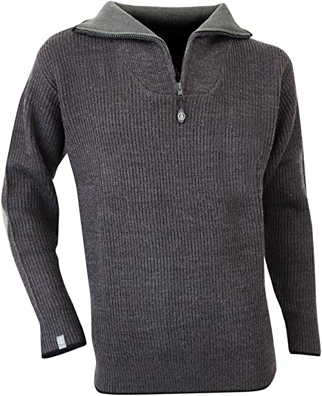 Anthracite Taille 7 LMA 803170 CACAO Pull Col Camionneur