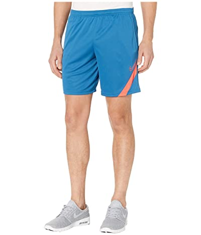 Nike Dry Academy Shorts NG KP (Industrial Blue/Laser Crimson) Men