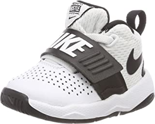 White Team Hustle D Toddler Shoe