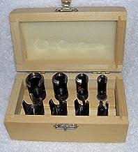 Wood Plug Cutter Set