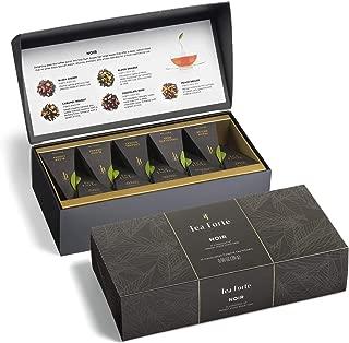 black rose tea set