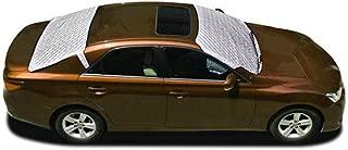 Jackey Awesome 遮阳罩汽车挡风玻璃雪和遮阳罩外部防护罩适合大多数汽车 银色 Jackeyawesome-01-931