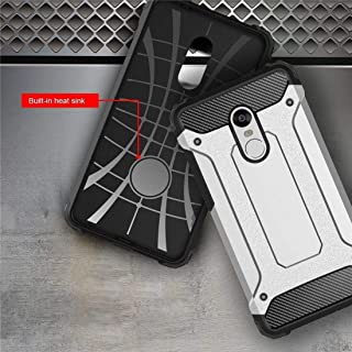 Xiaomi Redmi 4X Case, Hybrid Dual Layer Armor Defender Full-Body Protective Case Soft TPU and Hard PC Rugged Shockproof Di...