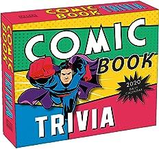 Comic Book Trivia 2020 Calendar