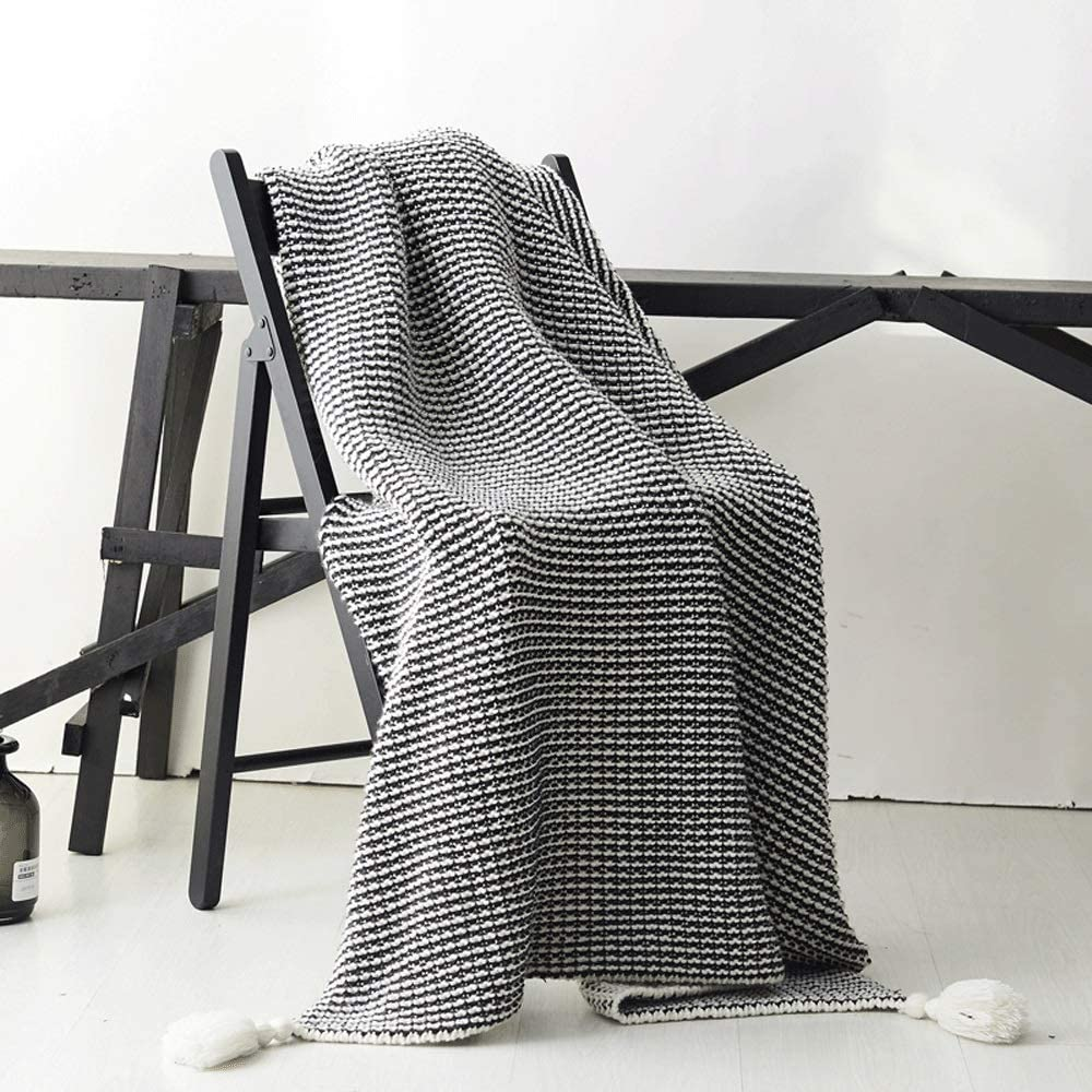 ZXT Solid Color Knitted Blanket New products, world's highest quality popular! B Nordic Cashmere Imitation Sofa High order