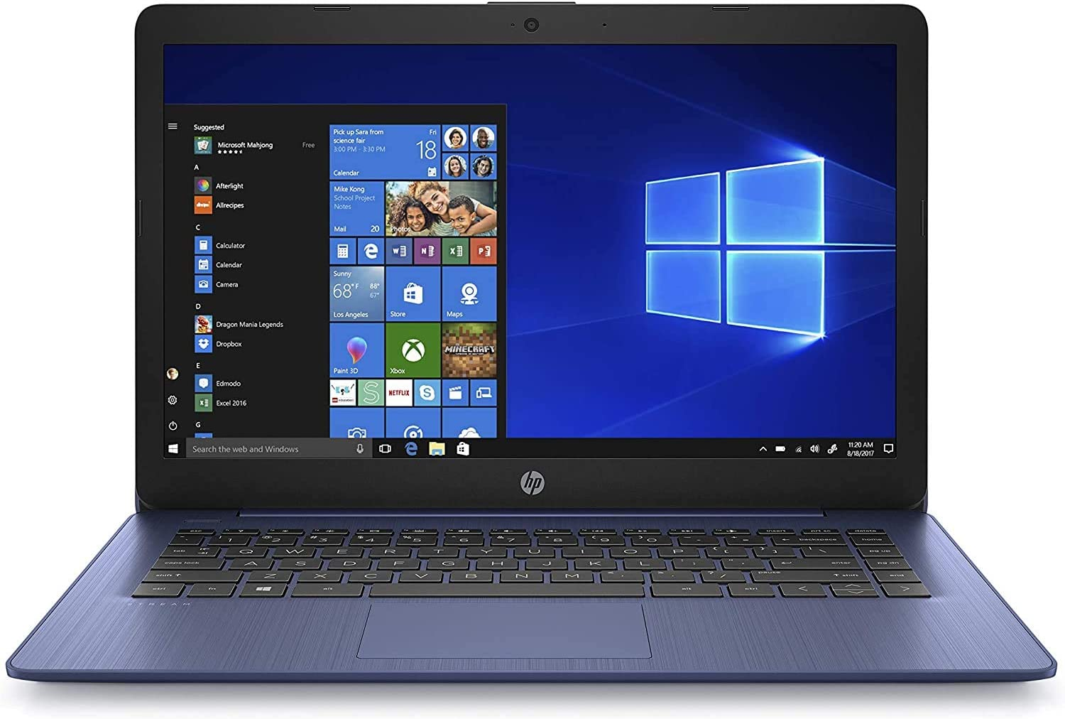 Deals on HP Stream 11-ak0090wm 11.6-inch Laptop, Celeron 4GB RAM