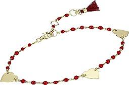 Heart Multi Cord Bracelet