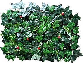Ububiko Kunstplanten om op te hangen, groot, radijs, groen, klimop, groen, zijde, decoratie voor keuken, huis, tuin, kanto...