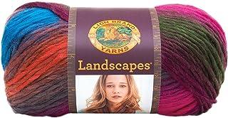"Lion Brand Yarn 100 g 100 Percent Acrylic ""Landscapes"" Yarn Ball, Tropics"