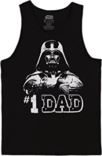 #1 Dad Darth Vader Tank Top