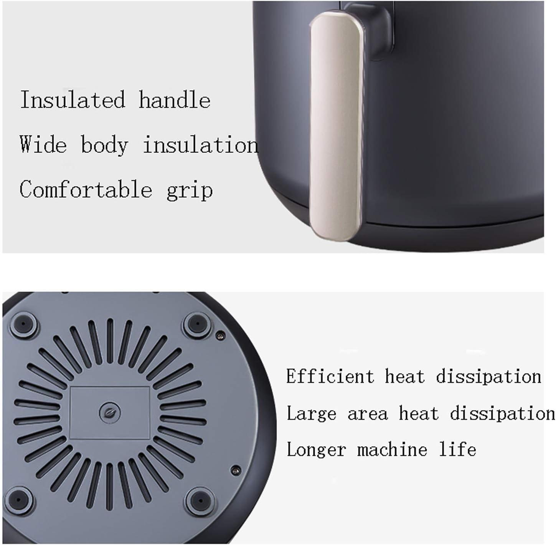 Tour 4.5L Air Fryer Avec Rapid Air System Circulation, Double bouton de commande, 360 ° à chaud circulation de l'air, non-adhérent Frie DDLS (Color : Smart Blue) Smart Blue