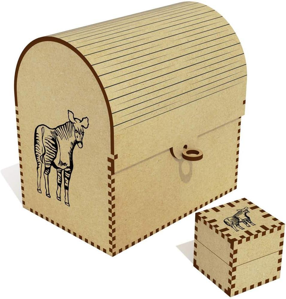 Azeeda Max Special price 40% OFF 'Okapi' Treasure Chest Jewellery Box TC00030975