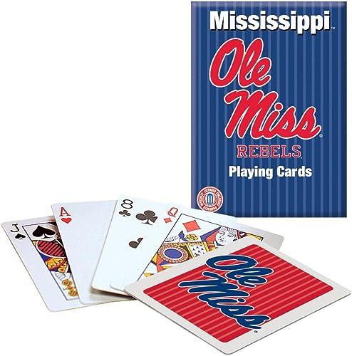 marcas de diseñadores baratos Ole Miss Playing Cards Cards Cards  buen precio