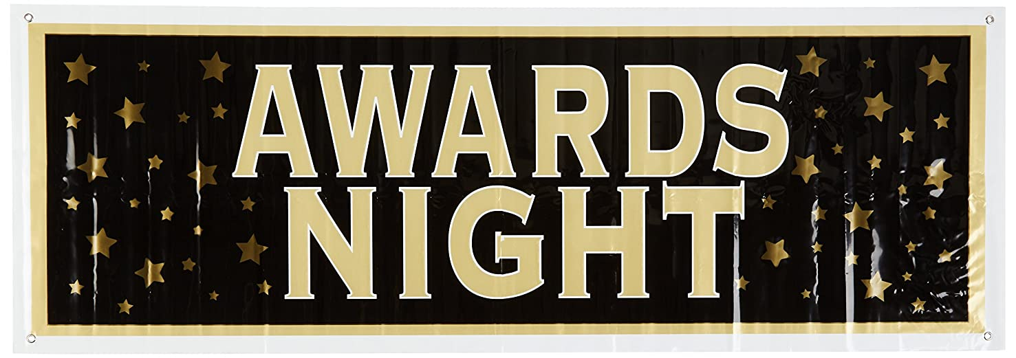 Awards Night Sign Banner Party Accessory (1 count) (1/Pkg)