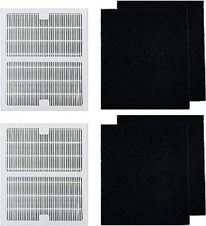 HEPA Filters B Fit for Idylis Air Purifier, 2 pcs HEPA Filter & 4 Carbon Prefilters, Fit for Idylis 2126 2125 IAP-10-125 IAP-10-150 Model # IAF-H-100B