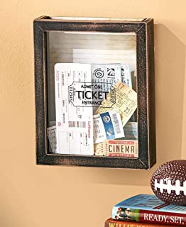 Lakeside Memento Wall Storage Boxes. 3 Design Choices. Wall Memory Boxes (Tickets)