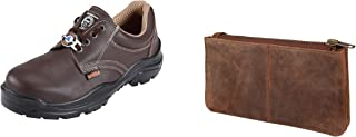 ACME Sodium Leather Safety Shoes And Leather wallet for women_ACME-AA-WL07_Sodium_ACME_44