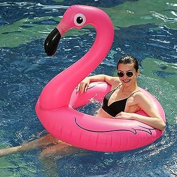 Flamenco Hinchable colchonetas piscina Flotador - WISHTIME Gigante ...