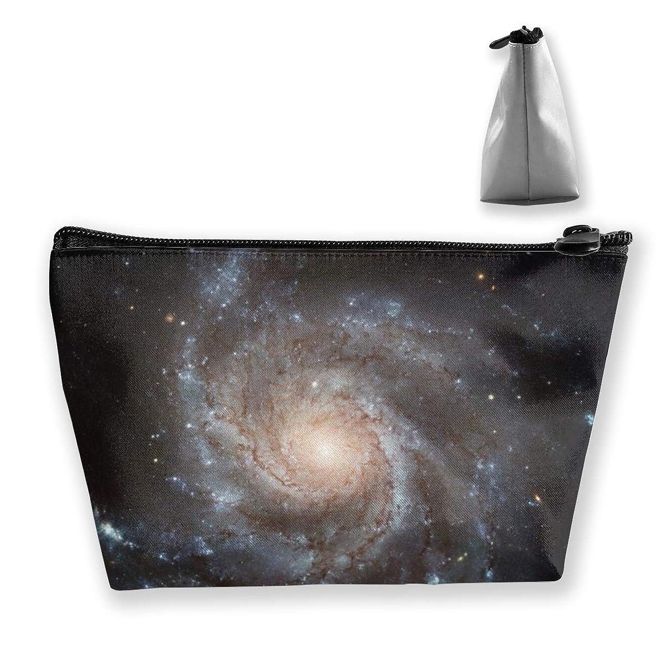 フラスコメタン住所Szsgqkj 宇宙の星空 化粧品袋の携帯用旅行構造の袋の洗面用品の主催者