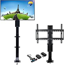 Happybuy TV Lift Mechanism Stroke Length 19.7 Inches Motorized TV Lift 32 Inches Electric TV Lift Adjustable Height 29-49 Inches for TV LCD Plasma Monitor