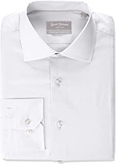 Men's Contemporary Fitted Long Sleeve Dress Shirt
