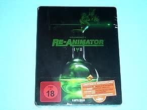 Re-Animator & Bride of Re-Animator German Limited Blu-Ray Steelbook Edition Both Uncut Stunning Edition Region B